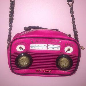 Betsey Johnson Radio Crossbody